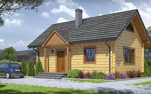 Domy całoroczne z drewna, bali, domy caloroczne